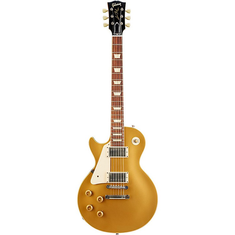 Gibson 1957 Les Paul Goldtop VOS Left-Handed Electric Guitar Antique Gold