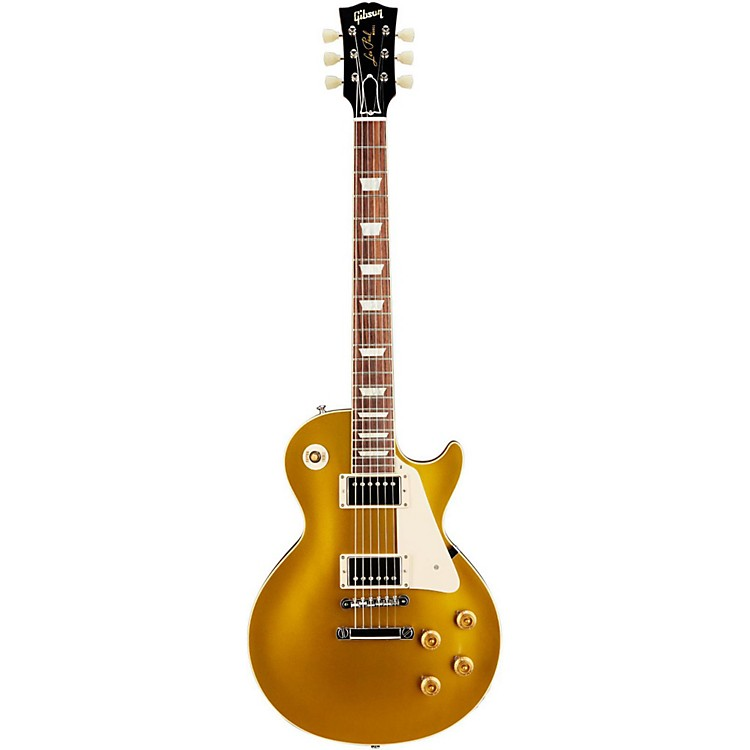 Gibson Custom1957 Les Paul Standard Historic Reissue Goldtop GlossAntique Gold