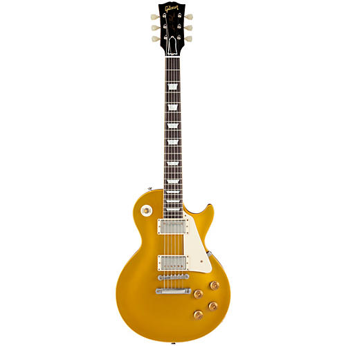 Gibson Custom 1957 Les Paul Standard Historic Reissue Goldtop VOS Antique Gold