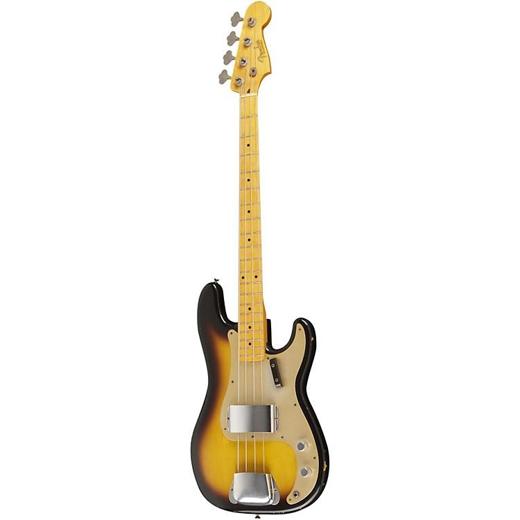 Fender Custom Shop1957 Precision Bass Relic Electric Bass Guitar Masterbuilt by Dale Wilson2 Color Sunburst