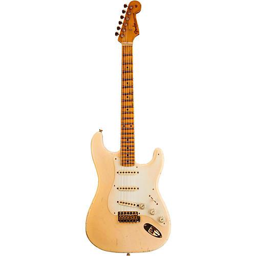 Fender Custom Shop 1957 Stratocaster Relic Ash Gold Hardware Masterbuilt by John Cruz-thumbnail