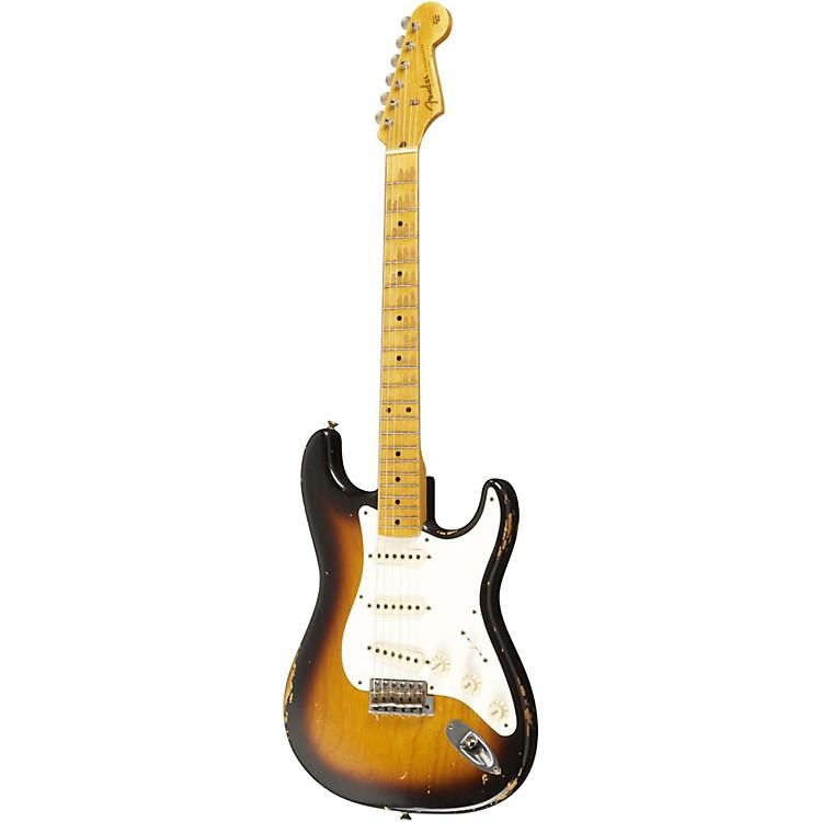 Fender Custom Shop1957 Stratocaster Relic Electric Guitar Master Built by Dale Wilson2 Color Sunburst