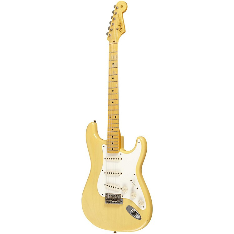 Fender Custom Shop 1957 Stratocaster Relic Electric Guitar Nocaster Blonde