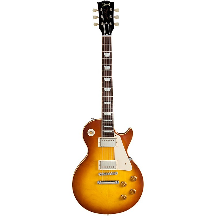 Gibson Custom 1958 Les Paul Standard Historic Reissue VOS Plaintop Iced Tea