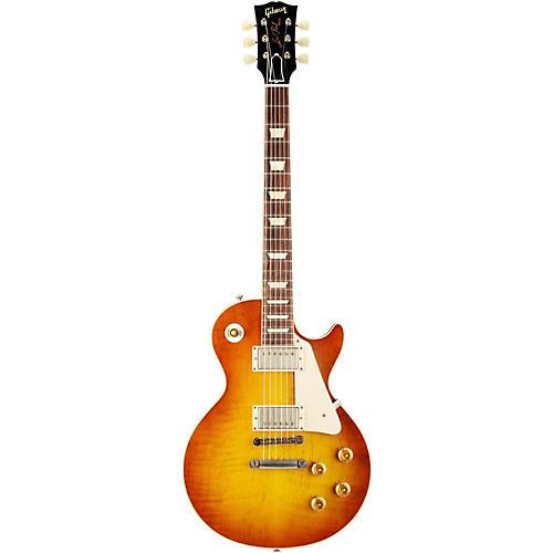 Gibson Custom 1958 Les Paul Standard Historic Reissue VOS Plaintop Sunrise Tea Burst