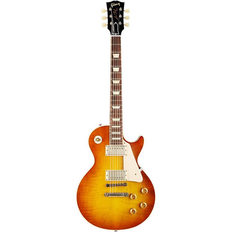 Gibson Custom1958 Les Paul Standard Historic Reissue VOS PlaintopSunrise Tea Burst