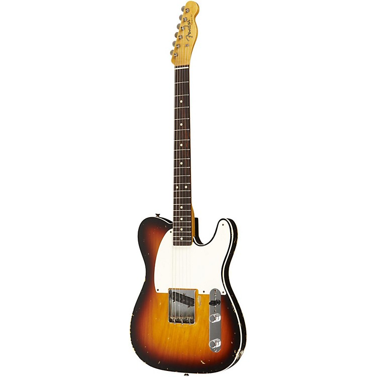 Fender Custom Shop1959 Esquire Custom Relic Electric Guitar Master Built by Dale WilsonTrans 3 Color Snbrst Faded to Trans 2 Color Snbrst