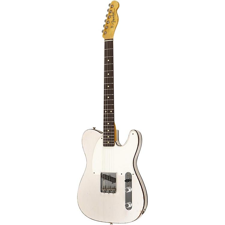 Fender Custom Shop1959 Esquire Custom Relic Electric Guitar Master Built by Dale WilsonTransparent White Blonde