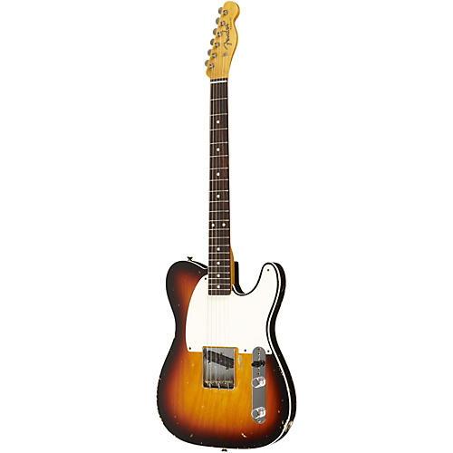 Fender Custom Shop 1959 Esquire Custom Relic Electric Guitar Masterbuilt by Dale Wilson Trans 3-Color Sunburst Fade to Trans 2-Color Sunburst
