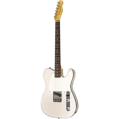 Fender Custom Shop 1959 Esquire Custom Relic Electric Guitar Masterbuilt by Dale Wilson Transparent White Blonde