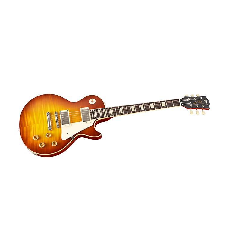 Gibson Custom 1959 Les Paul Reissue Electric Guitar with Hard Rock Maple Top