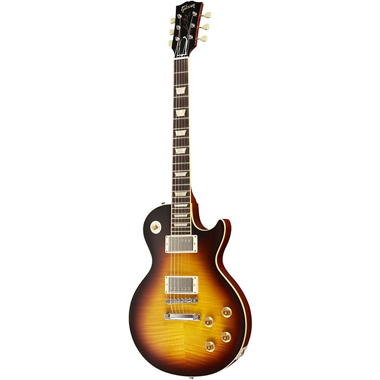 Gibson Custom 1959 Les Paul Standard Electric Guitar Faded Tobacco