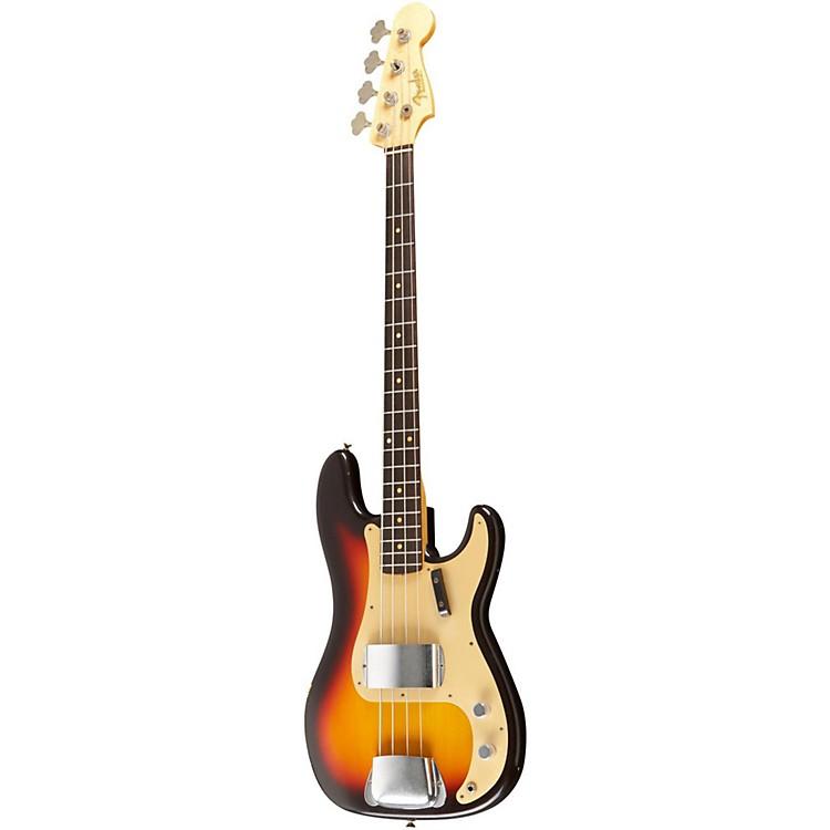 Fender Custom Shop1959 P Bass Relic GuitarChocolate 3 Color Sunburst