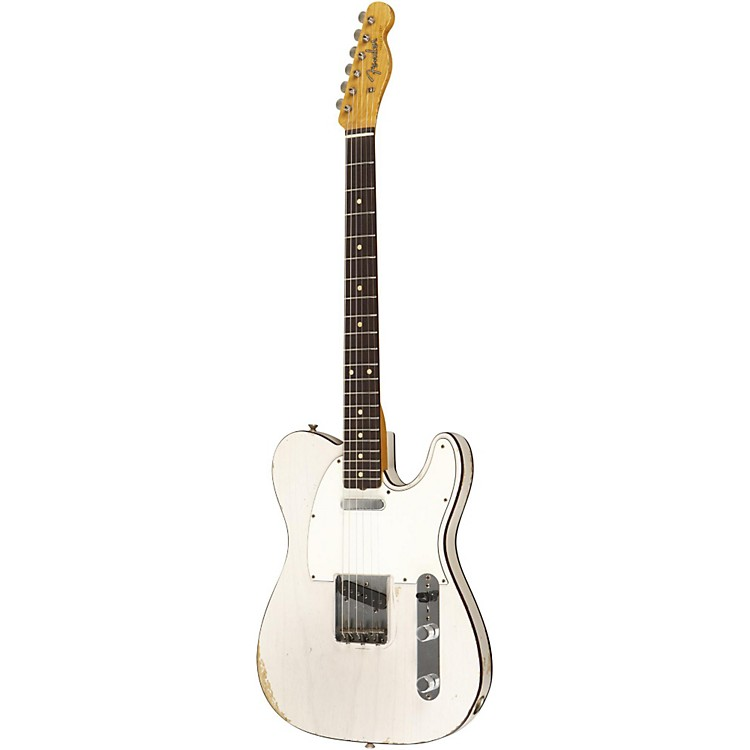 Fender Custom Shop 1959 Telecaster Custom Relic Electric Guitar Masterbuilt by Dale Wilson Transparent White Blonde