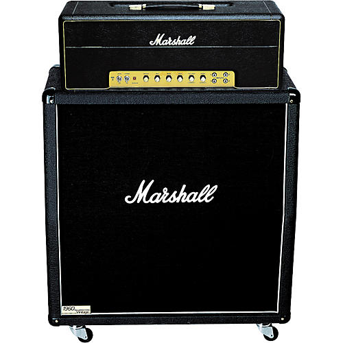 Marshall 1959SLPX Head and 1960AV Cab Half Stack Package-thumbnail