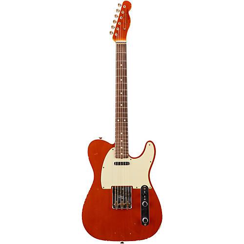 Fender Custom Shop 1960 Custom Relic Telecaster Electric Guitar with Matching Headcap
