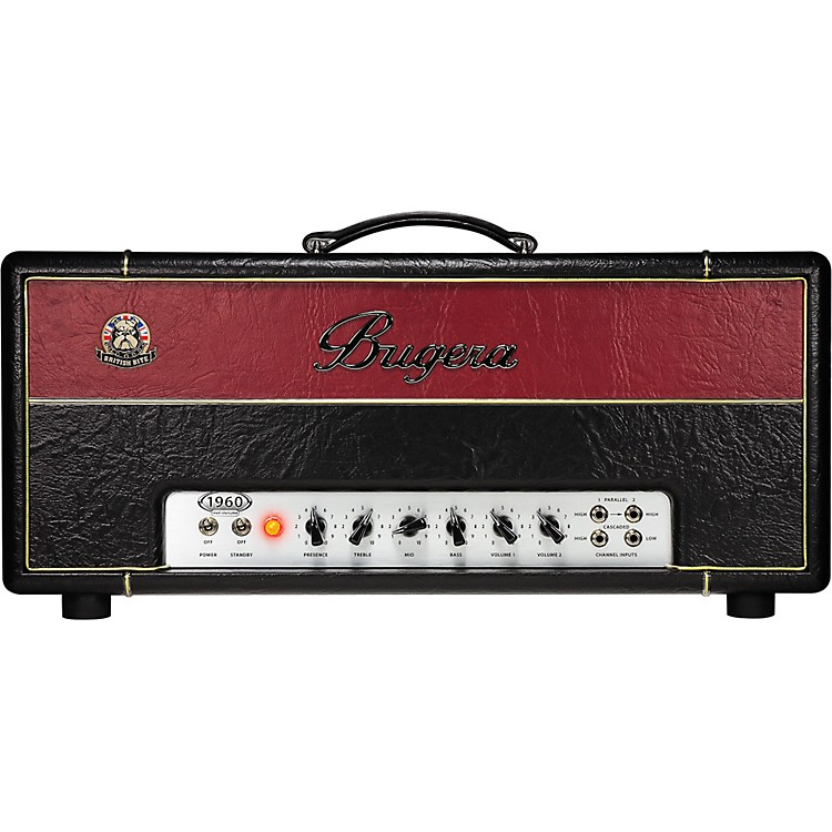 Bugera1960 Infinium 150W Classic Hi-Gain Tube Guitar Amp Head