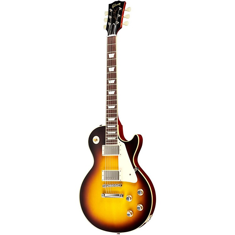 Gibson1960 Les Paul Reissue Plaintop Electric GuitarFaded Tobacco