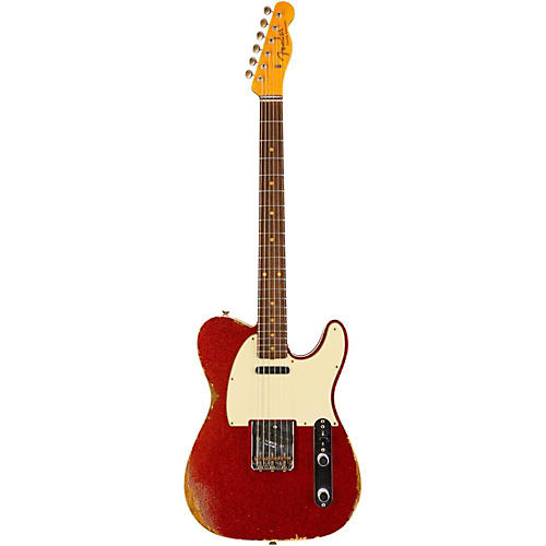 Fender Custom Shop 1960 Relic Telecaster Electric Guitar-thumbnail