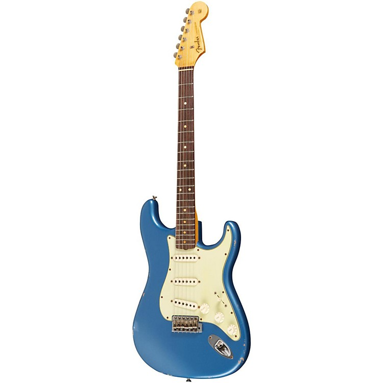 Fender Custom Shop 1960 Stratocaster Relic Electric Guitar Lake Placid Blue