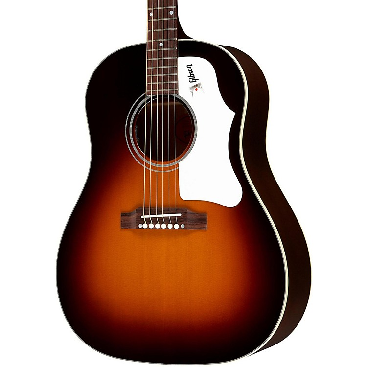 Gibson1960's J-45 Wine Red Acoustic-Electric GuitarMontana Sunset Burst