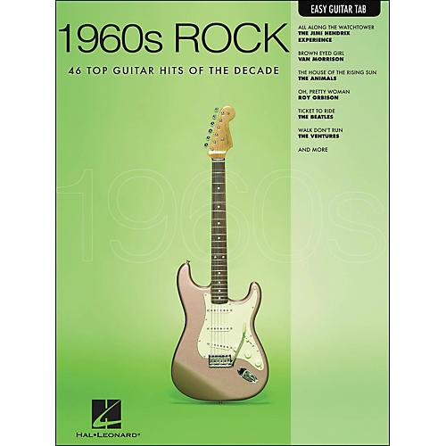Hal Leonard 1960s Rock Easy Guitar Tab