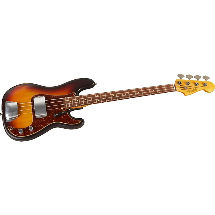 Fender Custom Shop 1961 P Bass Relic 4-String Electric Bass