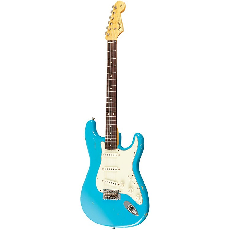 Fender Custom Shop 1961 Stratocaster Relic Electric Guitar Masterbuilt by Dale Wilson Taos Turquoise