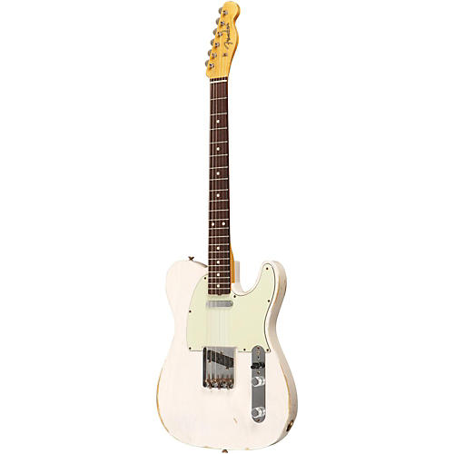 Fender Custom Shop 1961 Telecaster Relic Ash Electric Guitar Masterbuilt by Dale Wilson Transparent White Blonde