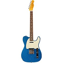 1962 Relic Telecaster Rosewood Fingerboard Electric Guitar Blue Sparkle