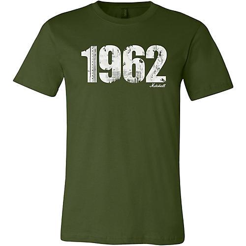 Marshall 1962 Soft Style Ring Spun Cotton T-Shirt Vintage Olive Medium
