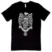 Ernie Ball Music Man 1962 Strings and Things White Font T-Shirt Large Black