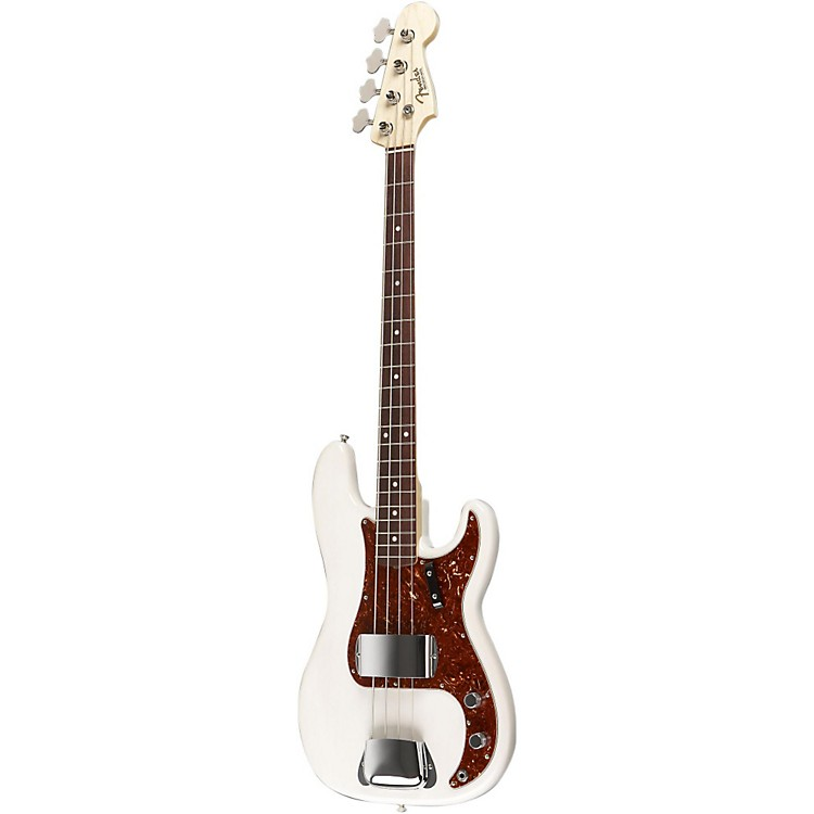 Fender Custom Shop 1964 P Bass Guitar White Blonde