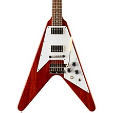 1967 Flying V with Maestro Electric Guitar Faded Cherry