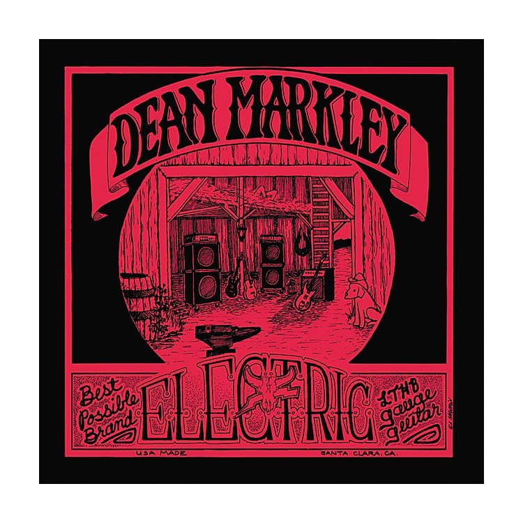 Dean Markley 1974 Vintage Electric Reissue Electric Guitar Strings - Light Top/Heavy Bottom