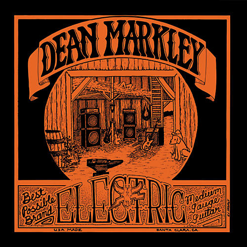Dean Markley 1975 Vintage Reissue Medium Electric Guitar Strings 12-Pack