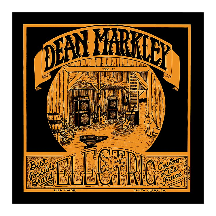 Dean Markley 1978 Vintage Electric Reissue Custom Light Electric Guitar Strings
