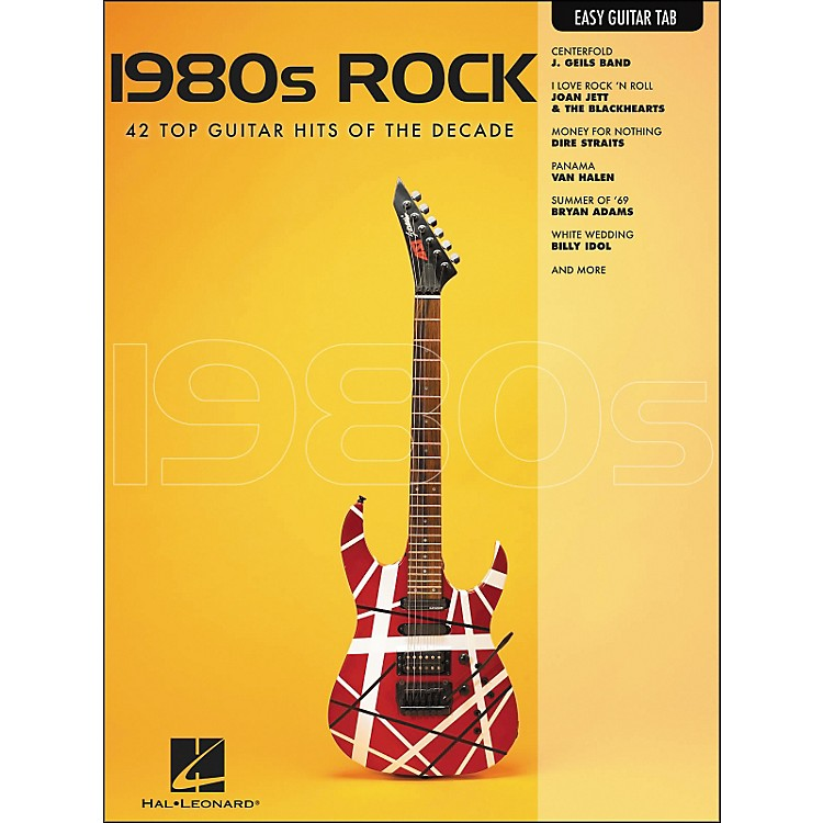Hal Leonard 1980s Rock Easy Guitar Tab