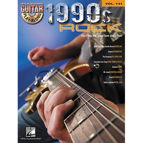 Hal Leonard 1990s Rock - Guitar Play-Along Volume 131 (Book/CD)