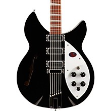 Rickenbacker 1993Plus 12-String Electric Guitar Jetglo