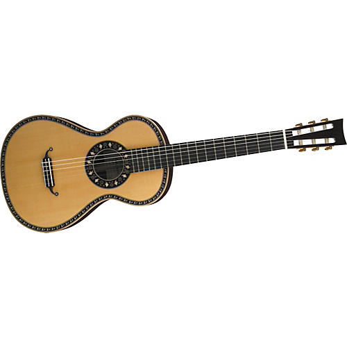 Aria 19th Century Nylon-String Acoustic Guitar