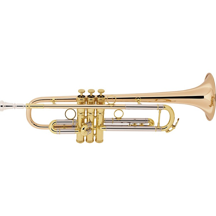 Conn1BR Vintage One Series Professional Bb TrumpetGold PlatedRose Brass Bell