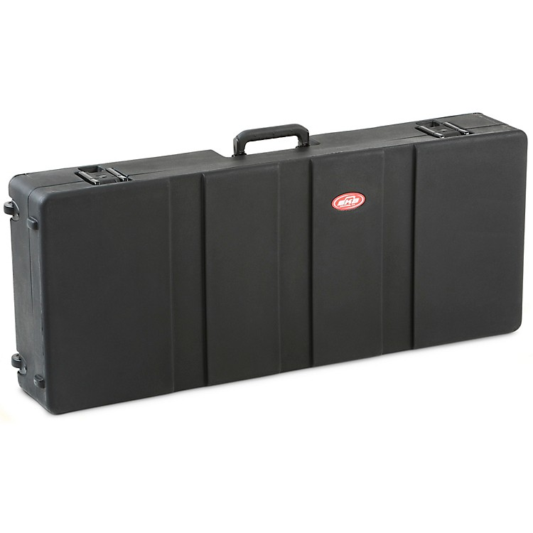 SKB1SKB-R4215W Roto Molded 61-Note Keyboard CaseBlack