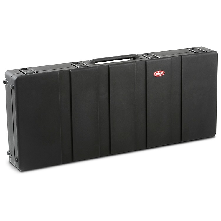 SKB 1SKB-R5220W Roto Molded 76-Note Keyboard Case Black