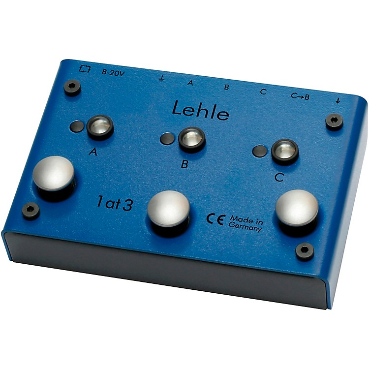 Lehle1at3 SGoS Switcher Guitar Pedal