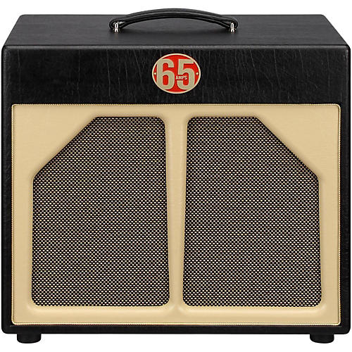 65amps 1x12 Guitar Speaker Cabinet - Red Line Black