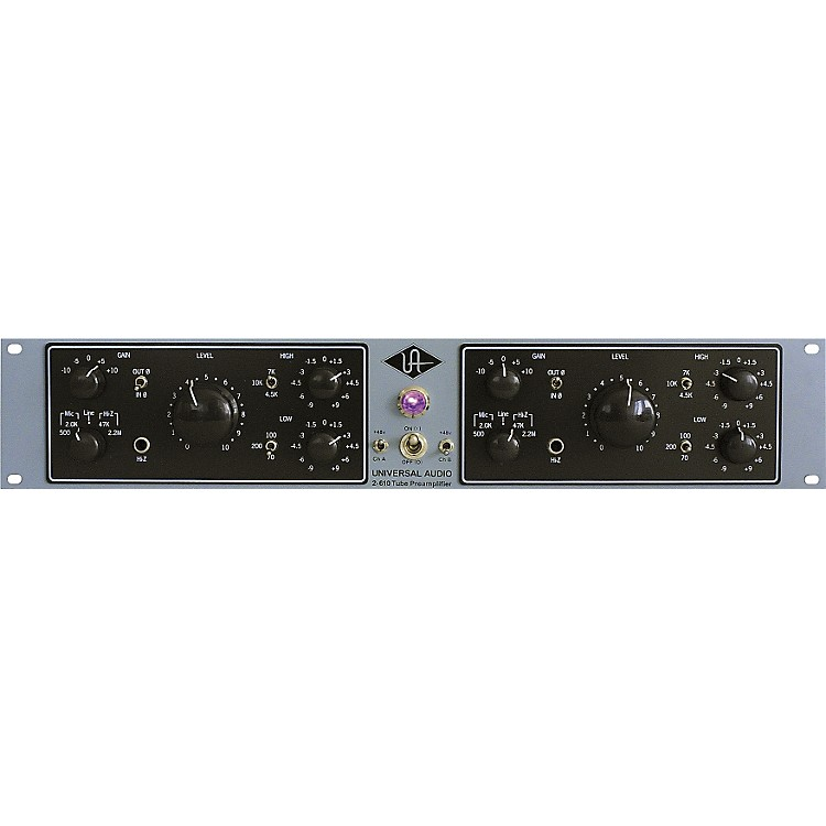 Universal Audio 2-610 Silverface Dual Channel Mic Pre