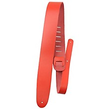"Perri's 2"" Basic Leather Guitar Strap Red"