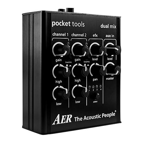 AER 2 Channel Preamp/Mixer with 4 Onboard Effects Preamp