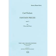 Wilhelm Hansen 2 Fantasy Pieces Op 2 (Oboe and Piano) Music Sales America Series